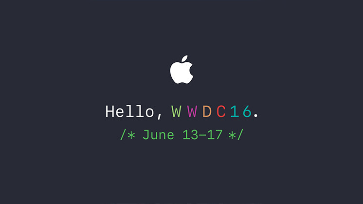 Apple WWDC event 2016.