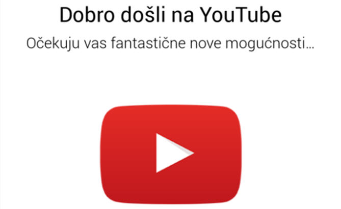 YouTube novosti!!!