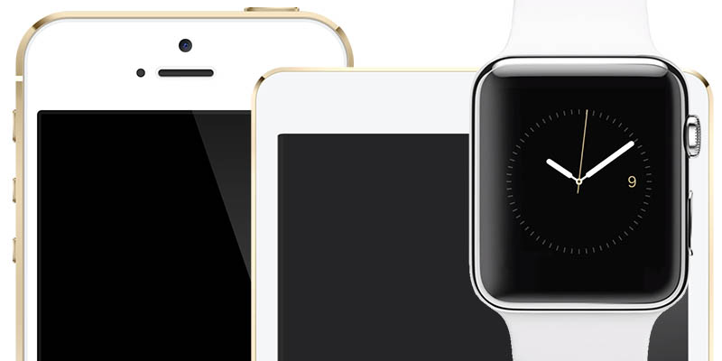 Apple Watch 2, iPhone 5SE, iPad Air3