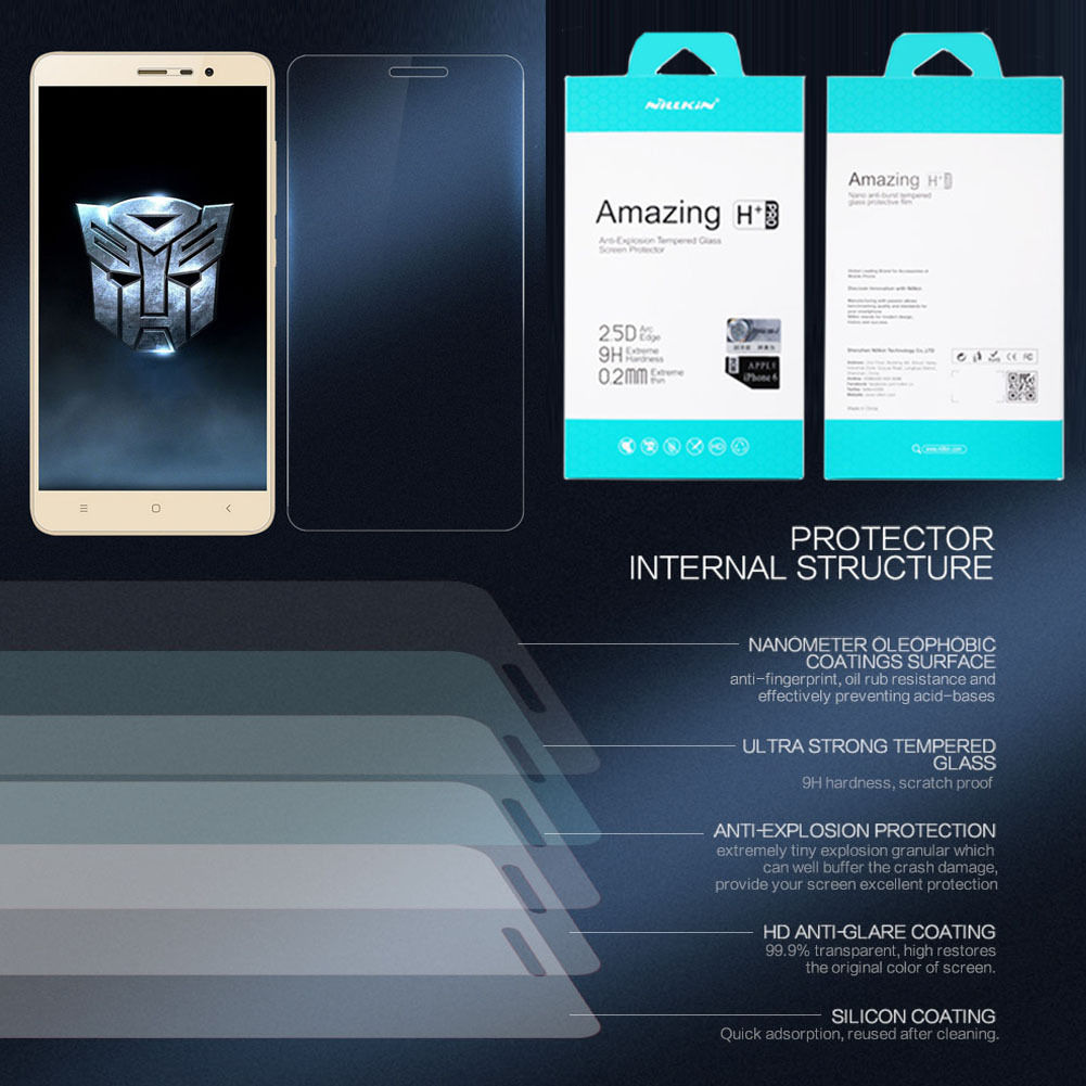 Nillkin Amazing H+ PRO Anti-Explosion Tempered Glass